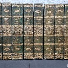 Libros antiguos: OBRAS COMPLETAS DE BUFFON , TRADUCIDAS AL CASTELLANO DE LA ÚLTIMA EDIC. FRANCESA .1847-50. 10 TOMOS.. Lote 245294695