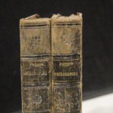 Libros antiguos: PHILOSOPHIA SCHOLASTICA AD MENTEM S. THOMAE AQUINATIS EXPOSITA ET RECENTIORIBUS SCIENTIARUM INVENTIS. Lote 245356275