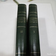 Libros antiguos: FOULCHÉ DELBOSC CANCIONERO CASTELLANO DEL SIGLO XV ( 2 TOMOS) W5568. Lote 245363305