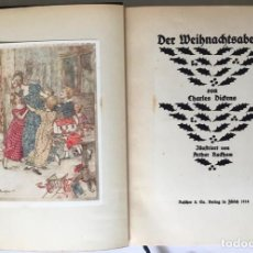 Libros antiguos: DER WEIHNACHTSABEND. - DICKENS, CHARLES.. Lote 245546220