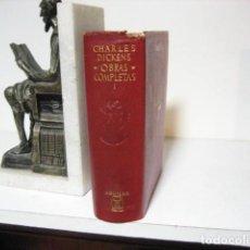 Libros antiguos: 1967.- OBRAS COMPLETAS. DICKENS. TOMO I AGUILAR. Lote 245571975