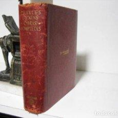 Libros antiguos: CHARLES DICKENS. OBRAS COMPLETAS. TOMO V. EDIT. AGUILAR. 1951.. Lote 245573360
