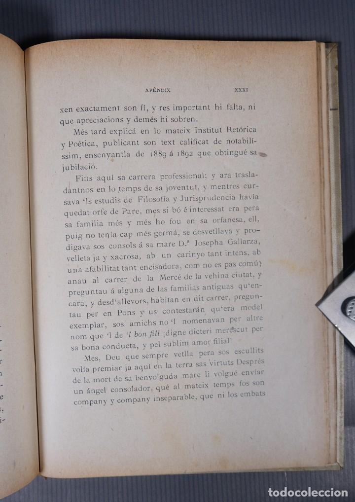 Libros antiguos: Sant Andreu de Palomar-Joan Clapés y Corbera-Tip. Andresense 1900 - Foto 9 - 245640325