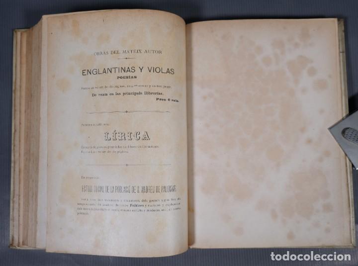 Libros antiguos: Sant Andreu de Palomar-Joan Clapés y Corbera-Tip. Andresense 1900 - Foto 10 - 245640325
