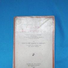 Libros antiguos: VELADAS DE INVIERNO - BARTOLOMÉ RAMÓN Y CAPMANI. Lote 245784340