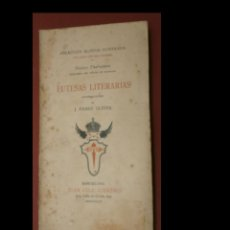 Libros antiguos: FUTESAS LITERARIAS. DOCTOR THEBUSSEM. Lote 246107565