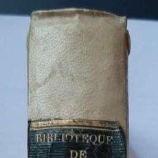 Libros antiguos: BIBLIOTHÈQUE DE VILLE ET DE CAMPAGNE. 1788. INVENCIÓN DEL CAFÉ, TRANSFUSIONES, PEINADOS FEMENINOS. Lote 246113100
