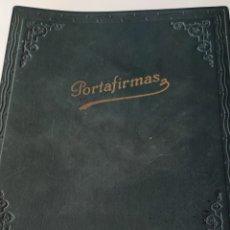 Libros antiguos: LIBRO PORTAFIRMAS ANTIGUO. Lote 246171385
