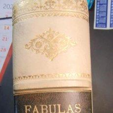 Libri antichi: FABULAS DE LA FONTAINE-GRABADOS GUSTAVO DORE-1885-COMO NUEVO-. Lote 246244100