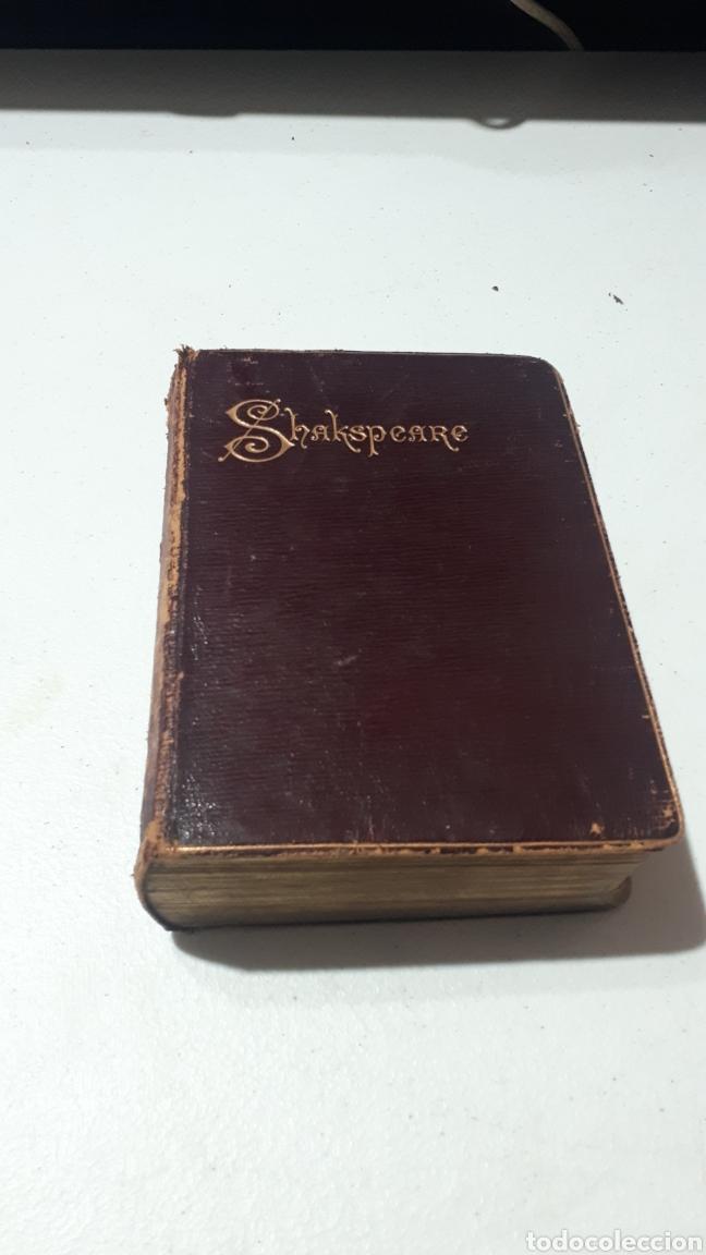 THE WORKS OF WILLIAM SHAKESPEARE WITH LIFE GLOSSARY & C. 1898 PEACOCK MANSFIELD & BRITTON (Libros Antiguos, Raros y Curiosos - Otros Idiomas)
