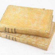 Libros antiguos: BIBLIOTECA DANTESCA, 2 VOL. 14X21 CM.. Lote 246472615