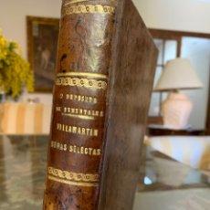 Libri antichi: OBRAS SELECTAS DE DON FRANCISCO VILLAMARTIN. COMANDANTE DE INFANTERÍA. 1883. Lote 246475115