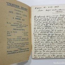 Libros antiguos: 1928, FERNAN FELIX DE AMADOR. LA ESPAÑA DE FELIPE II. TOLEDO Y EL GRECO + CARTA MANUSCRITA. Lote 246667585