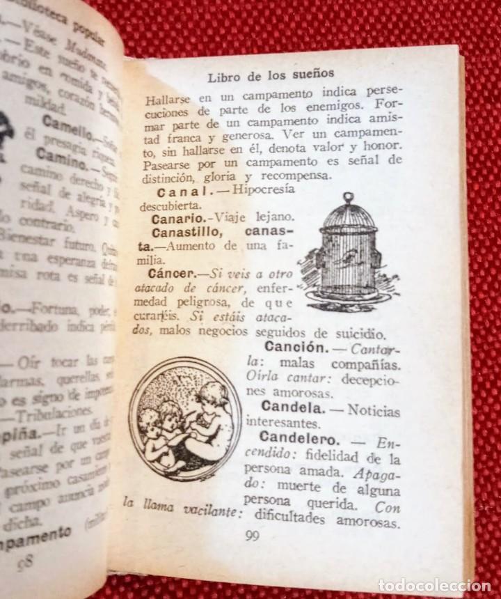 Libros antiguos: EL LIBRO DE LOS SUEÑOS - CALLEJA - BIBLIOTECA POPULAR - GRABADOS - Foto 5 - 246703330
