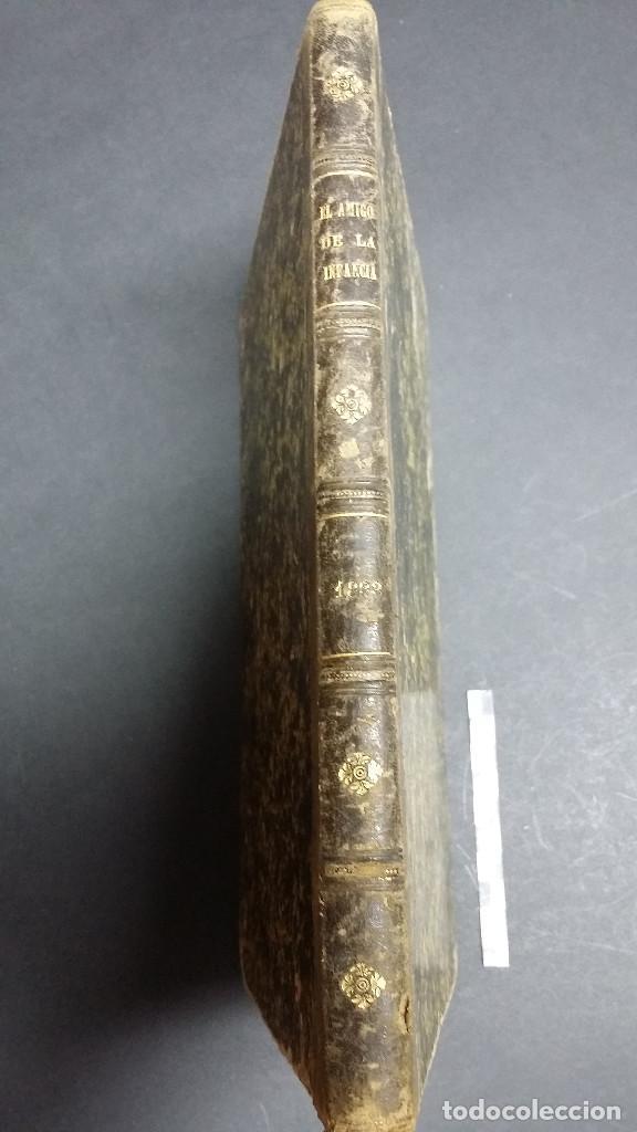 Libros antiguos: El amigo de la infancia 1883, año X. - Foto 3 - 246719050