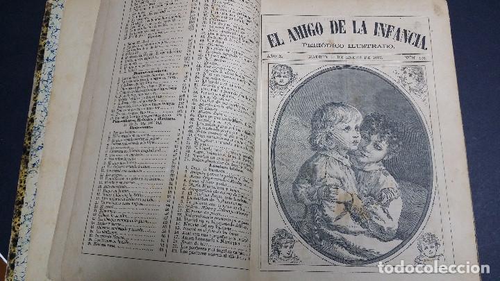 EL AMIGO DE LA INFANCIA 1883, AÑO X. (Libros Antiguos, Raros y Curiosos - Literatura Infantil y Juvenil - Otros)