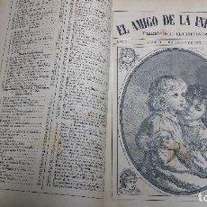 Libros antiguos: EL AMIGO DE LA INFANCIA 1883, AÑO X.. Lote 246719050