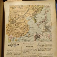 Libros antiguos: GEOGRAPHIE GENERALE, P. FONCIN, ED. ARMAND COLIN, 1889. Lote 246840770
