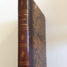 Libros antiguos: TRAITÉ THÉORIQUE ET PRATIQUE DES ENTREPRISES INDUSTRIELLES, COMMERCIALES ET AGRICOLES...1855.. Lote 247084285