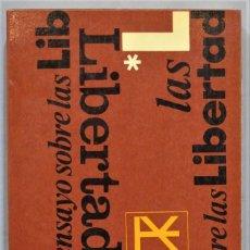 Livres anciens: ENSAYO SOBRE LAS LIBERTADES. RAYMOND ARON. Lote 247407005