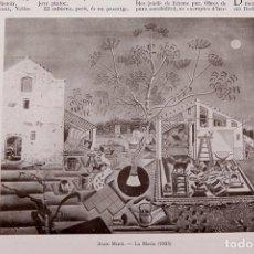Libros antiguos: GASETA DE LES ARTS - JOAN MIRÓ - 1925 - LA MASIA. Lote 247654010