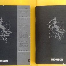 Libros antiguos: DIS MANUALES INSTRUCCIONES VIDEO VHS THOMSON. Lote 247717285