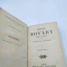 Libros antiguos: MADAME BOVARY I. EN FRANCÉS 1866. Lote 248454535