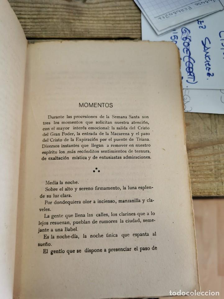 Libros antiguos: COMO ANTORCHAS, JOSE MUÑOZ SAN ROMAN, SEVILLA, 1917,154 PAGINAS, RARO EJEMPLAR - Foto 3 - 152725998
