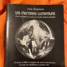 Livres anciens: LAS MENTIRAS LUCRATIVAS- JÜAN JURGENSON. Lote 248987890
