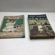 Libros antiguos: LOTE DE LIBROS DE COCINA - LA TECA IGNASI DOMENECH - MIL Y UN PLATOS DE CARNE. Lote 249517920
