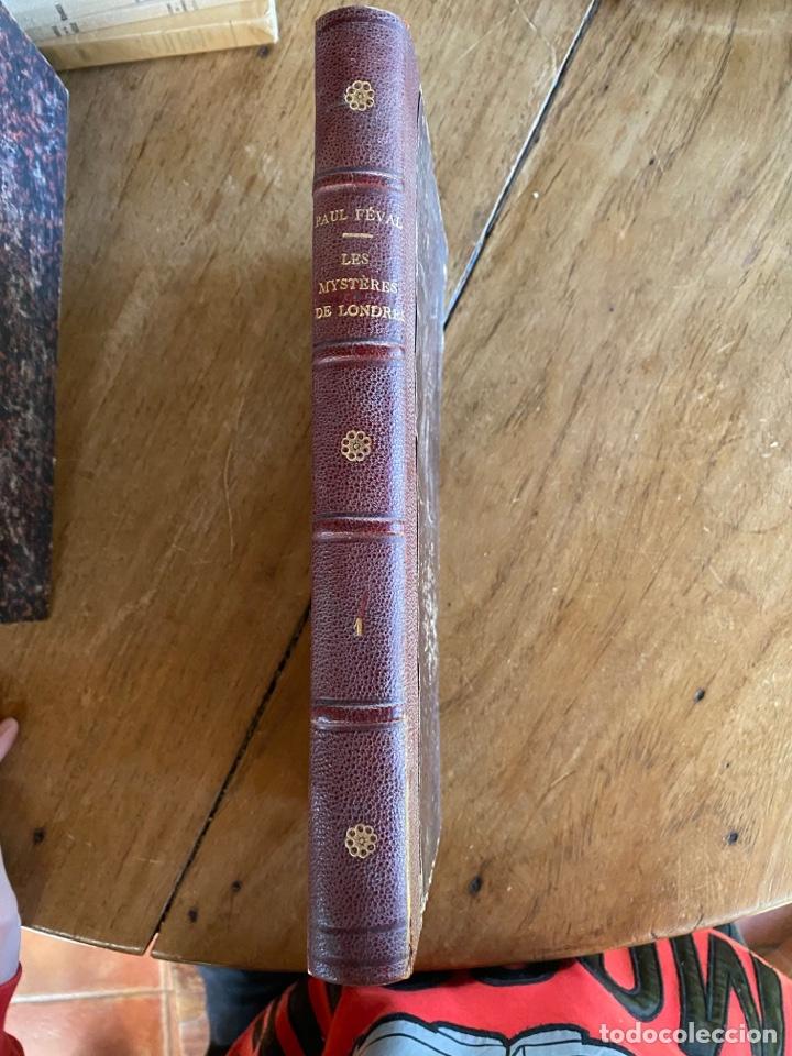 Libros antiguos: Libro Paul Féval Les Mystères de Londres - Tomo 1 - Nouvelle Édition- s.XIX - Foto 3 - 249528360