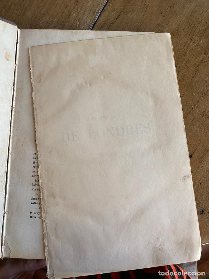 Libros antiguos: Libro Paul Féval Les Mystères de Londres - Tomo 1 - Nouvelle Édition- s.XIX - Foto 6 - 249528360