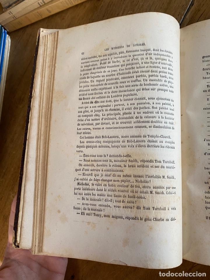 Libros antiguos: Libro Paul Féval Les Mystères de Londres - Tomo 1 - Nouvelle Édition- s.XIX - Foto 11 - 249528360