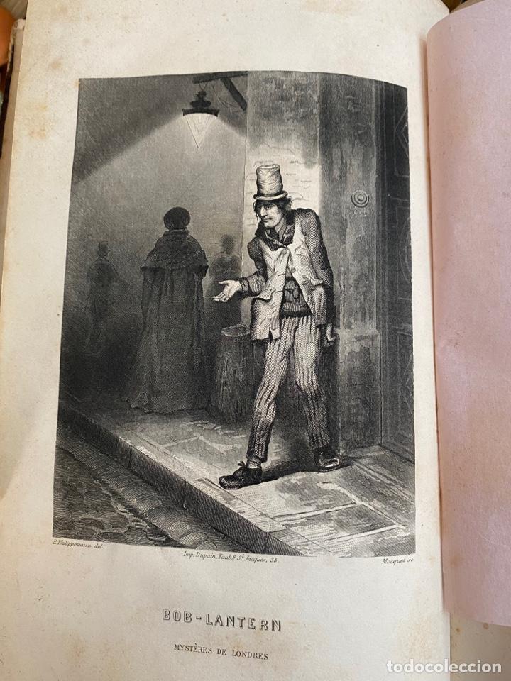 Libros antiguos: Libro Paul Féval Les Mystères de Londres - Tomo 1 - Nouvelle Édition- s.XIX - Foto 12 - 249528360