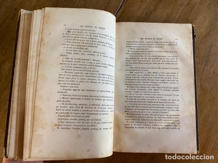 Libros antiguos: Libro Paul Féval Les Mystères de Londres - Tomo 1 - Nouvelle Édition- s.XIX - Foto 13 - 249528360