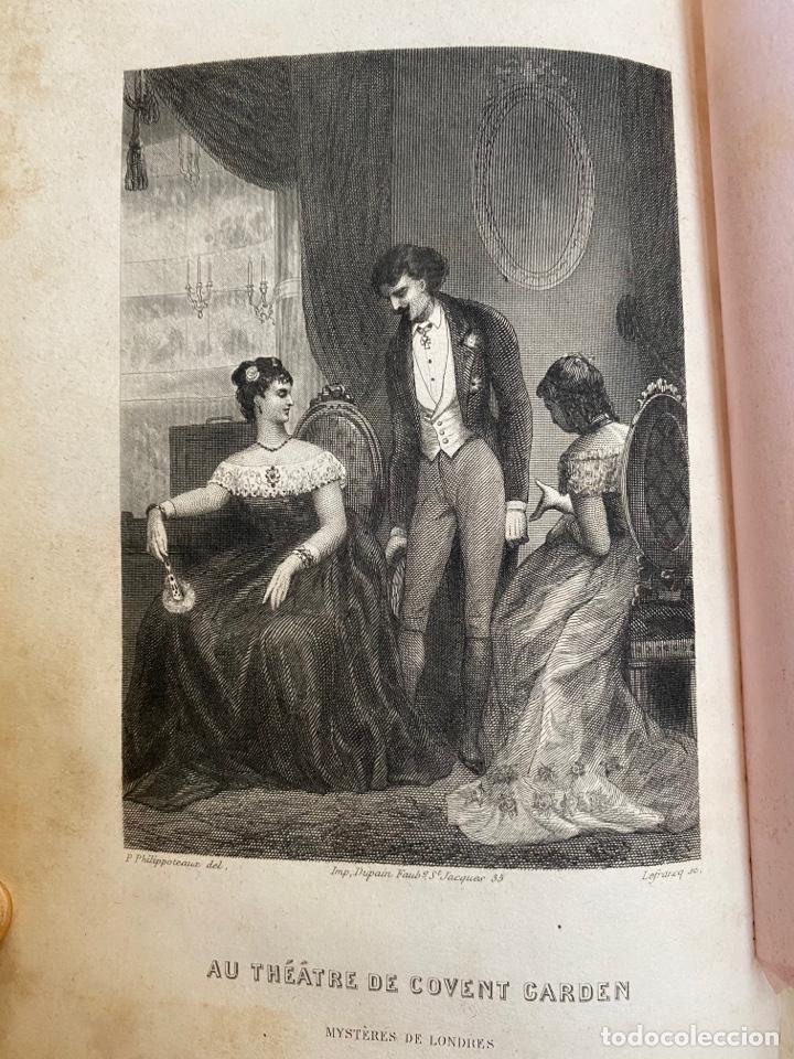 Libros antiguos: Libro Paul Féval Les Mystères de Londres - Tomo 1 - Nouvelle Édition- s.XIX - Foto 14 - 249528360