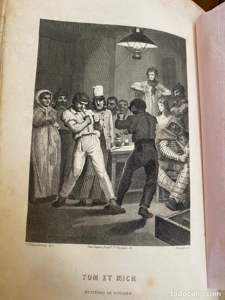 Libros antiguos: Libro Paul Féval Les Mystères de Londres - Tomo 1 - Nouvelle Édition- s.XIX - Foto 15 - 249528360