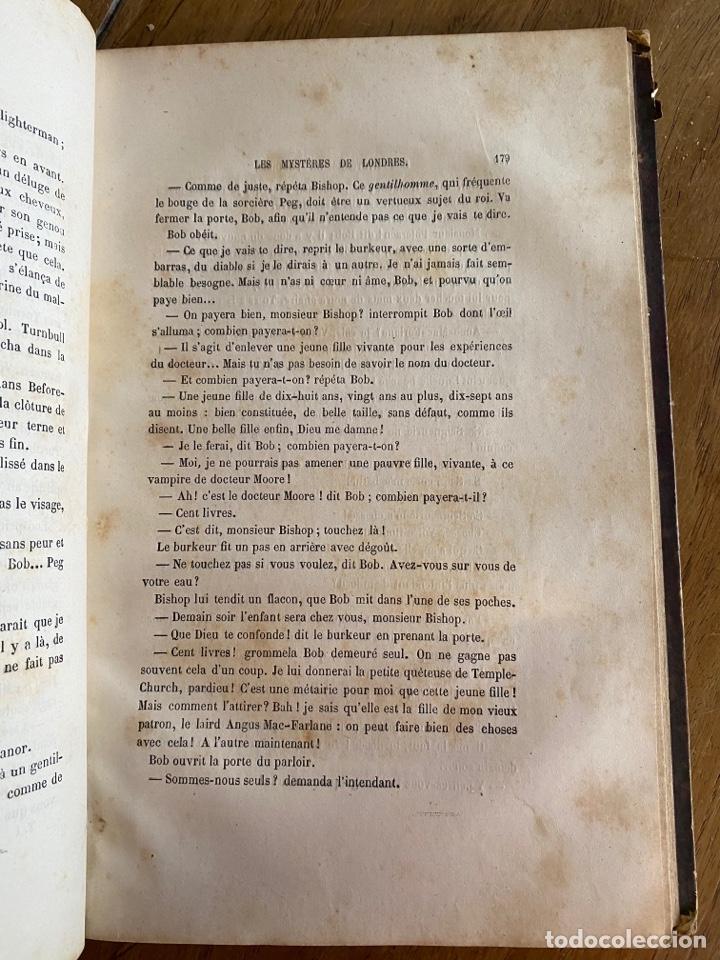 Libros antiguos: Libro Paul Féval Les Mystères de Londres - Tomo 1 - Nouvelle Édition- s.XIX - Foto 16 - 249528360