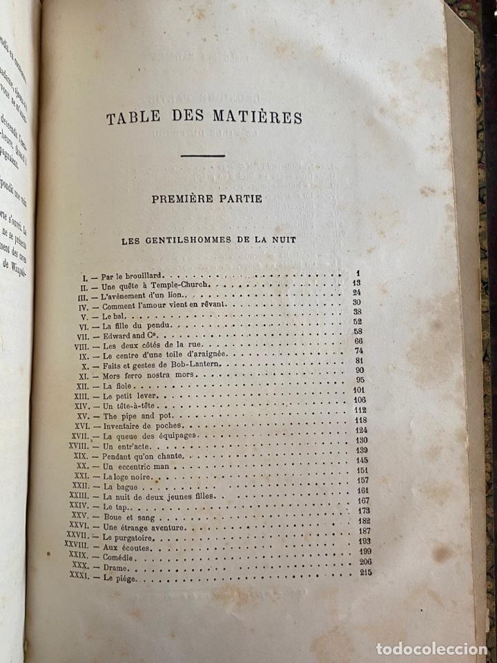 Libros antiguos: Libro Paul Féval Les Mystères de Londres - Tomo 1 - Nouvelle Édition- s.XIX - Foto 20 - 249528360