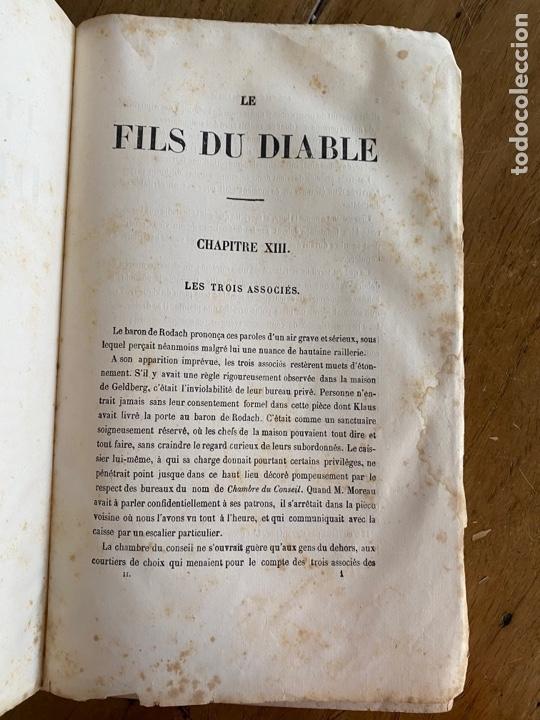Libros antiguos: Libro Paul Féval Le Fils du Diable - Tomo 2 - Nouvelle Édition- s XIX - Foto 6 - 249531580