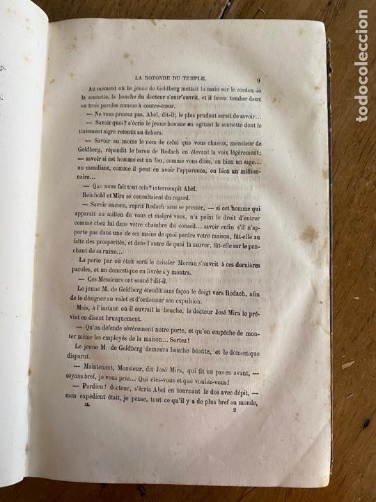 Libros antiguos: Libro Paul Féval Le Fils du Diable - Tomo 2 - Nouvelle Édition- s XIX - Foto 7 - 249531580