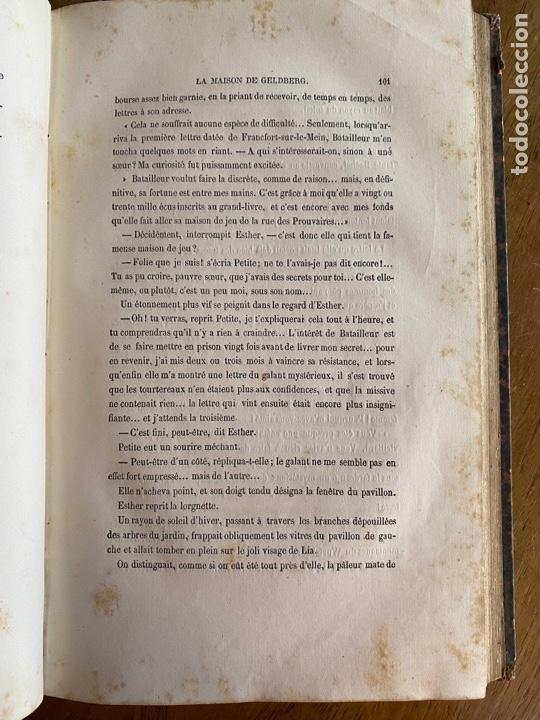 Libros antiguos: Libro Paul Féval Le Fils du Diable - Tomo 2 - Nouvelle Édition- s XIX - Foto 10 - 249531580