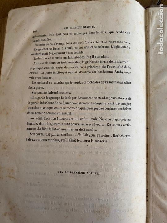 Libros antiguos: Libro Paul Féval Le Fils du Diable - Tomo 2 - Nouvelle Édition- s XIX - Foto 14 - 249531580