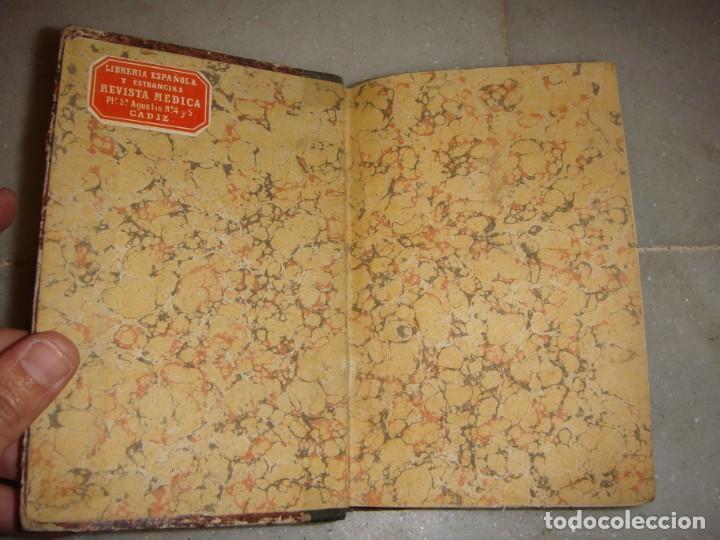 Libros antiguos: El libro de las familias. Manual de cocina española. 1870. + Novísimo manual de cocina americana. - Foto 2 - 249560370