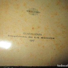 Libros antiguos: LOTE MANUSCRITOS 1889 Y LIBRO HORAS CALMA RARO POESIAS MARIA CARMEN GIL GUADALAJARA 1907. Lote 59701171