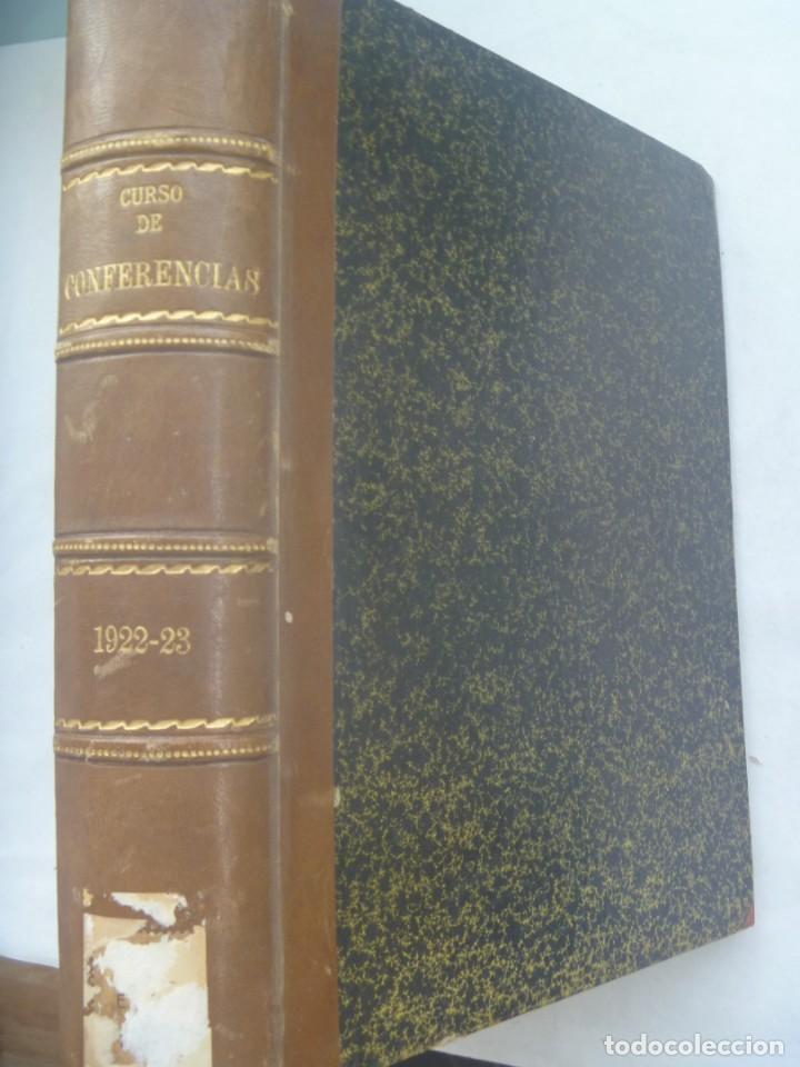 ENORME LIBRO DE CURSO DE CONFERENCIAS , 1922-23: CAVALCANTI, ETC. TEMAS DE HISTORIA, ETC (Libros Antiguos, Raros y Curiosos - Historia - Otros)