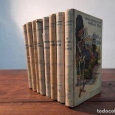 Libros antiguos: LOTE 8 LIBROS OBRAS COMPLETAS DE VARGAS VILA - ED. RAMON SOPENA, NO CONSTA AÑO, BARCELONA. Lote 251717645