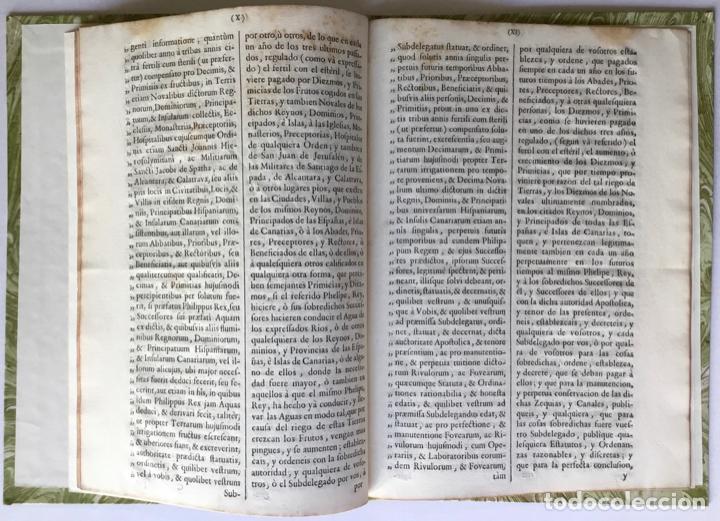 Libros antiguos: VENERABILIBUS FRATRIBUS ARCHIEPISCOPIS, ET EPISCOPIS REGNORUM HISPANIARUM, ET INSULARUM CANARIARUM.. - Foto 2 - 251968685