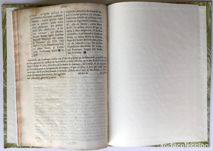Libros antiguos: VENERABILIBUS FRATRIBUS ARCHIEPISCOPIS, ET EPISCOPIS REGNORUM HISPANIARUM, ET INSULARUM CANARIARUM.. - Foto 4 - 251968685