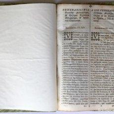 Libros antiguos: VENERABILIBUS FRATRIBUS ARCHIEPISCOPIS, ET EPISCOPIS REGNORUM HISPANIARUM, ET INSULARUM CANARIARUM... Lote 251968685